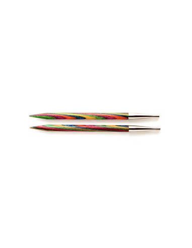 Knitpro ändstickor Symfonie standard 6,5mm