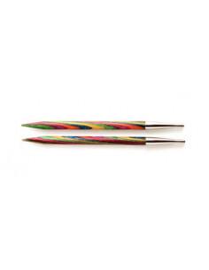 Knitpro ändstickor Symfonie standard 10mm