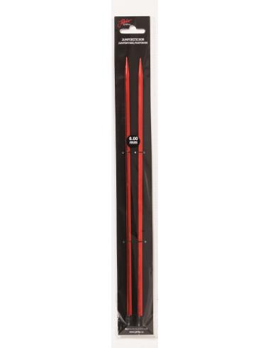 Jumperstickor röd 8mm