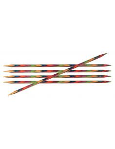 Knitpro strumpstickor Symfonie 20cm 6mm