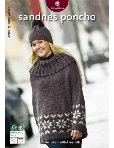 Tema 25 Poncho norsk text