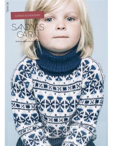 Tema 38 Norske Ikoner barn Norsk text