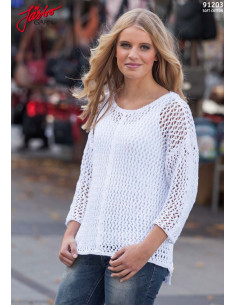 Stickbeskrivning 91203 Soft Cotton