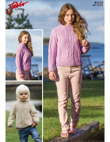 Stickbeskrivning 91516 Soft Cotton