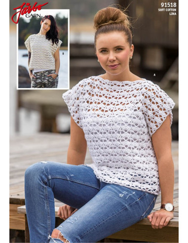 Stickbeskrivning 91518 Soft Cotton