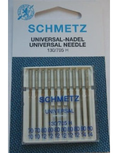 Symaskinsnål universal 70 90 10pack Schmetz
