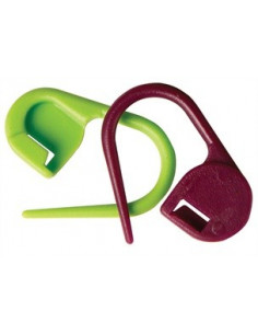 Knitpro låsbara stickmarkörer