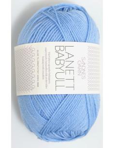 Lanett Babyull 5904 Ljusblå