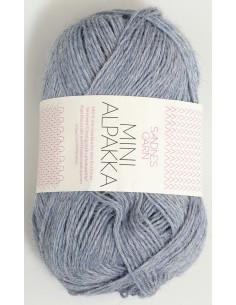 Mini Alpakka 6221 Jeansblå