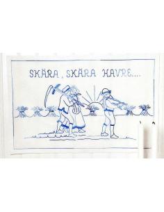 Bonad Skära Skara Havre