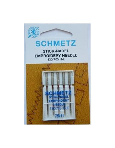 Schmetz Broderi130/705H-E Size 75-90