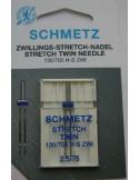 Schmetz TvillingH-S ZWI NE 2,5 Size 75