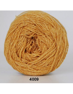 Organic 350 Wool Cotton Senapsgul 4009