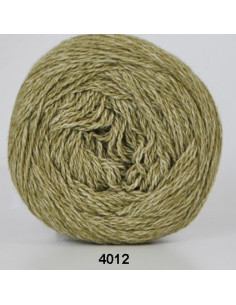 Organic 350 Wool Cotton Lj. grön 4012