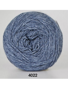 Organic 350 Wool Cotton Blå 4022