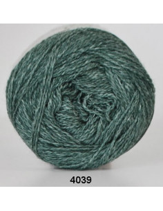 Organic 350 Wool Cotton Petrol 4039