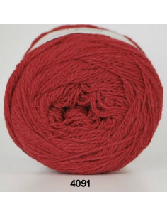 Organic 350 Wool Cotton Röd 4091