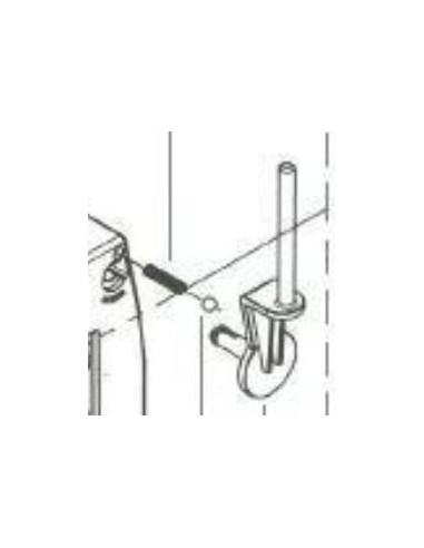 Trådrullehållare lodrät 125 - 240