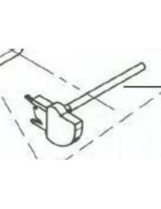 Trådrullehållare vågrät 125 - 240