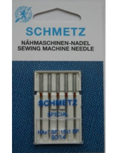Schmetz HAx1 SP 15x1 90 Super Stretch 5-pak