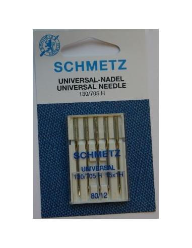Schmetz Universal Size 80 5 pk