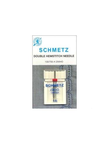 Schmetz Tvilling-Hålsömnsnål 130/705 H ZWIHO Size 100