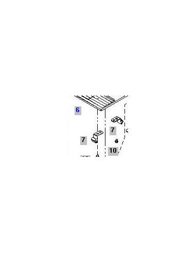 Fjäder till stygnplåt Bernina 125 - 830