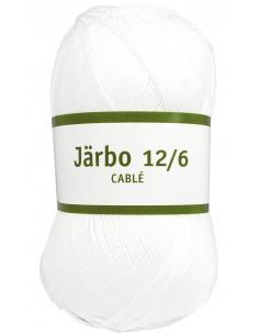 Järbo 12/6 cablé 100g vit