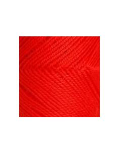 Fino 5204 12/3 50 g Mörk rödorange
