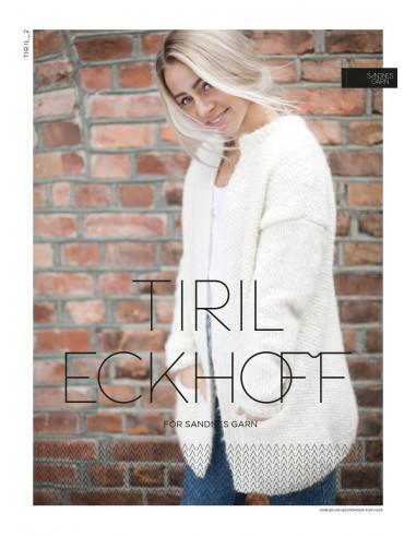 Stickbeskrivning Tiril 2 Borstad Alpakka Norsk Text