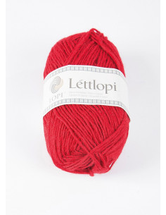 Lettlopi 50g 9434 Crimson Red