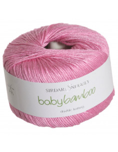 Snuggly Baby Bamboo Rosa 112