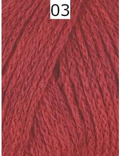 Ambra Melange Röd 03