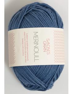 Merinoull 6052 Jeansblå