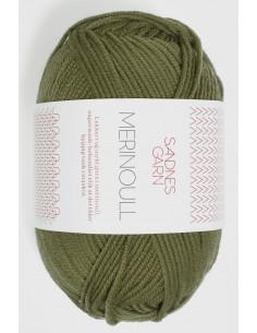 Merinoull 9364 Olivgrön