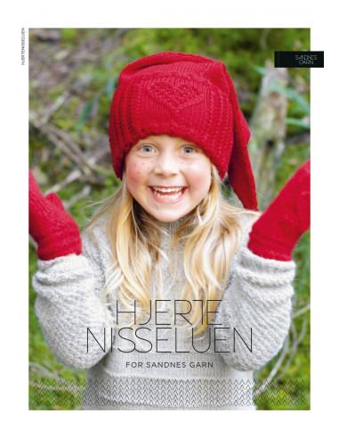Stickbeskrivning Hjertenisselue Norsk text
