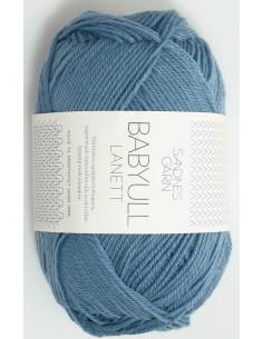 Lanett Babyull 6033 Mellanblå