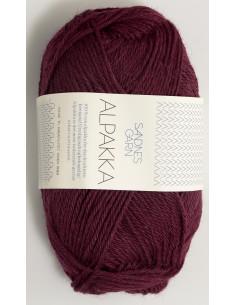 Alpakka Vinröd 4554