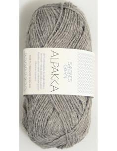 Alpakka Gråmelerad 1042