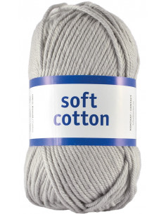 Soft Cotton 84 Silvergrå