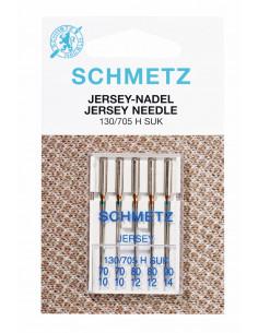 Tvillingnål Stretch 4,0mm/75 1-pak Blå Schmetz