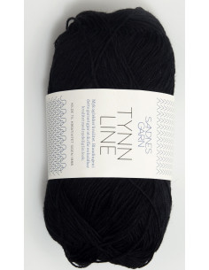 Tynn Line 1099 Svart
