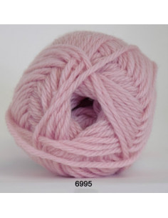 Ragg 50g 6995 Ljusrosa