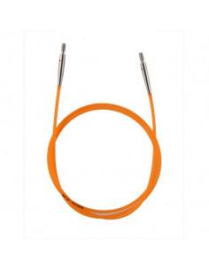 Enkelkabel Orange ger 80cm rundsticka