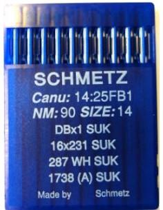 Schmetz Rundkolv 287WH/1738 Size 90