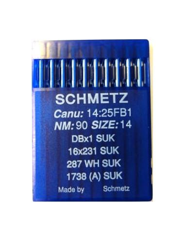 Schmetz Rundkolv 287WH/1738 Size 80
