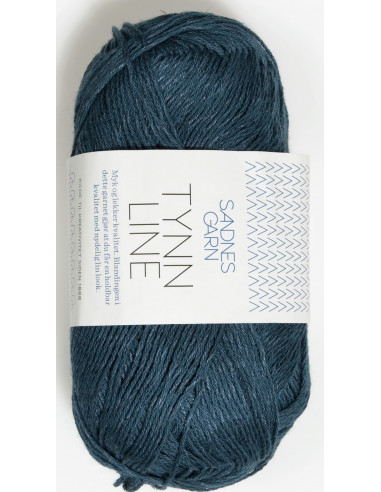Tynn Line 6364 Mörkblå