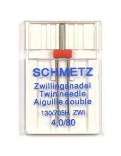 Schmetz Tvilling130/705H ZWI NE 4,0 Size 80