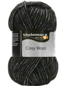 Cosy Wool 099 Svartgrå