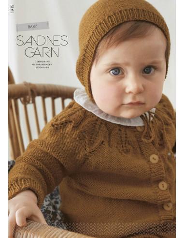 Mönsterhäfte 1915 Baby Svensk Text